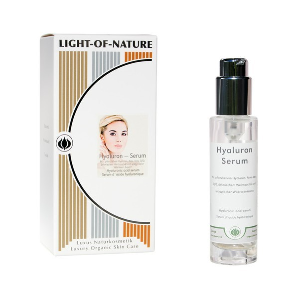 Light-of-Nature, Spagyrisches Hyaluron-Serum mit pflanzlichem Hyaluron - 15 ml