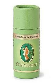 Primavera, Jasmin Sambac Absolue ätherisches Öl - 1 ml